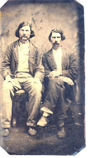 Primary view of object titled 'Chickasaw Brothers Henry and Wyatt Love'.