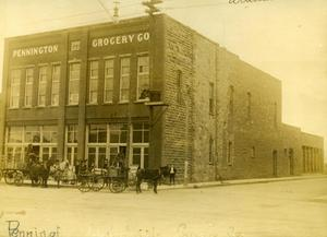 Primary view of object titled 'Pennington Grocery Company'.