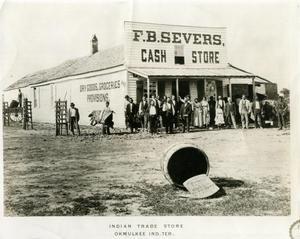 Primary view of F.B. Severs Cash Store, Okmulgee, Indian Territory