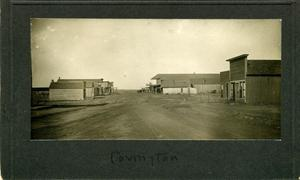 Primary view of object titled 'Covington, OK'.