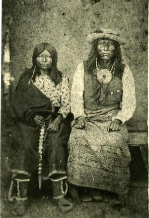 Primary view of Waco-Wichita Chief Buffalo Goad and Wife