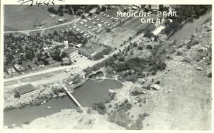 Primary view of object titled 'Aerial View of Medicine Park'.
