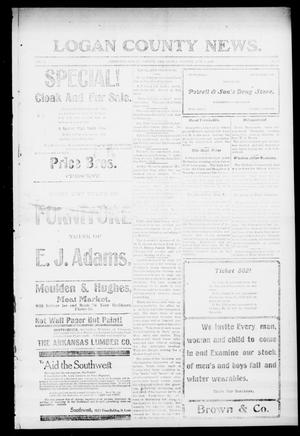 Primary view of object titled 'Logan County News. (Crescent, Okla.), Vol. 4, No. 55, Ed. 1 Friday, October 5, 1906'.