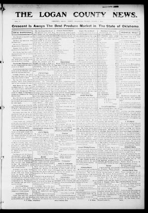 Primary view of object titled 'The Logan County News. (Crescent, Okla.), Vol. 11, No. 17, Ed. 1 Friday, March 13, 1914'.