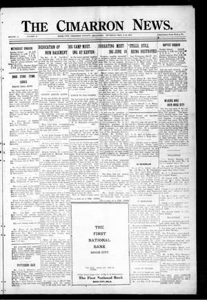 Primary view of object titled 'The Cimarron News. (Boise City, Okla.), Vol. 25, No. 44, Ed. 1 Thursday, May 31, 1923'.