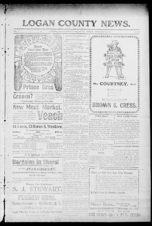 Primary view of object titled 'Logan County News. (Crescent, Okla.), Vol. 4, No. 24, Ed. 1 Friday, February 9, 1906'.