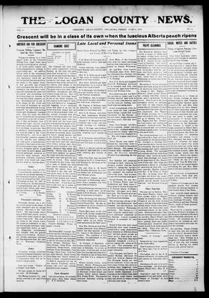 Primary view of object titled 'The Logan County News. (Crescent, Okla.), Vol. 9, No. 31, Ed. 1 Friday, June 14, 1912'.