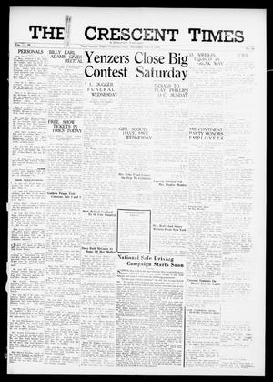 Primary view of object titled 'The Crescent Times (Crescent, Okla.), Vol. 32, No. 39, Ed. 1 Thursday, July 6, 1939'.