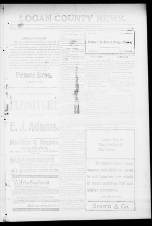 Primary view of object titled 'Logan County News. (Crescent, Okla.), Vol. 4, No. 58, Ed. 1 Friday, October 26, 1906'.