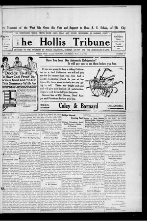 Primary view of object titled 'The Hollis Tribune (Hollis, Okla.), Vol. 2, No. 39, Ed. 1 Thursday, May 23, 1912'.