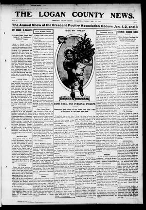 Primary view of object titled 'The Logan County News. (Crescent, Okla.), Vol. 11, No. 4, Ed. 1 Friday, December 12, 1913'.