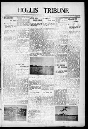 Primary view of object titled 'Hollis Tribune (Hollis, Okla.), Vol. 1, No. 34, Ed. 1 Friday, April 7, 1911'.