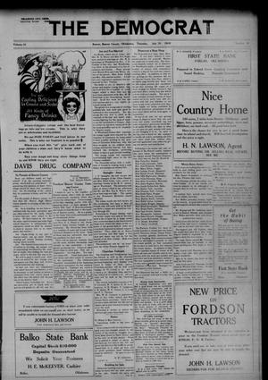 Primary view of The Democrat (Beaver, Okla.), Vol. 10, No. 9, Ed. 1 Thursday, July 31, 1919