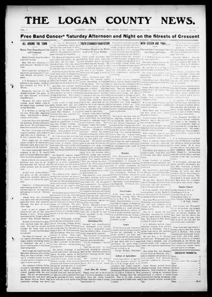 Primary view of object titled 'The Logan County News. (Crescent, Okla.), Vol. 8, No. 42, Ed. 1 Friday, September 1, 1911'.