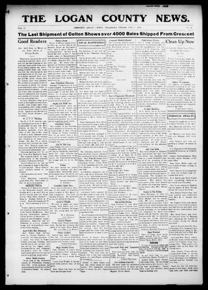 Primary view of object titled 'The Logan County News. (Crescent, Okla.), Vol. 11, No. 12, Ed. 1 Friday, February 6, 1914'.