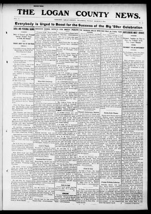 Primary view of object titled 'The Logan County News. (Crescent, Okla.), Vol. 10, No. 18, Ed. 1 Friday, March 21, 1913'.