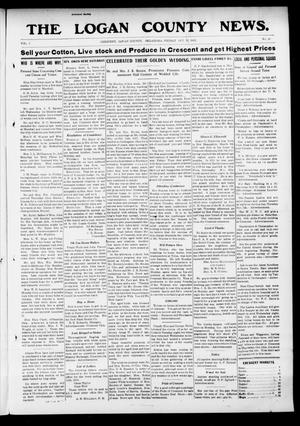 Primary view of object titled 'The Logan County News. (Crescent, Okla.), Vol. 9, No. 49, Ed. 1 Friday, October 18, 1912'.