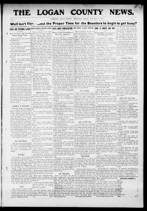 Primary view of object titled 'The Logan County News. (Crescent, Okla.), Vol. 9, No. 9, Ed. 1 Friday, January 12, 1912'.