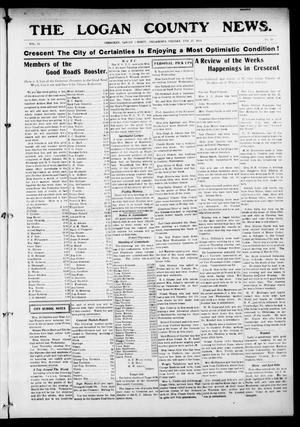 Primary view of object titled 'The Logan County News. (Crescent, Okla.), Vol. 11, No. 15, Ed. 1 Friday, February 27, 1914'.