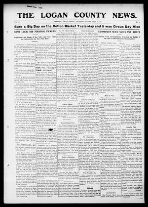 Primary view of object titled 'The Logan County News. (Crescent, Okla.), Vol. 10, No. 42, Ed. 1 Friday, September 5, 1913'.