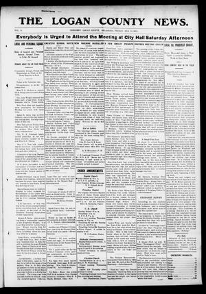 Primary view of object titled 'The Logan County News. (Crescent, Okla.), Vol. 10, No. 13, Ed. 1 Friday, February 14, 1913'.