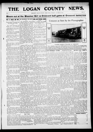 Primary view of object titled 'The Logan County News. (Crescent, Okla.), Vol. 9, No. 42, Ed. 1 Friday, August 30, 1912'.