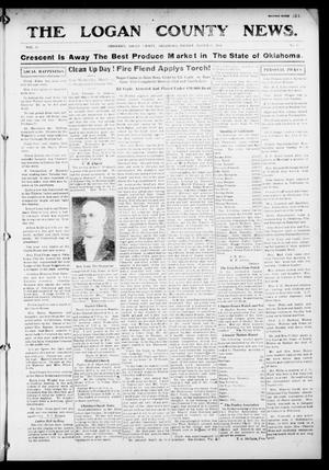 Primary view of object titled 'The Logan County News. (Crescent, Okla.), Vol. 11, No. 18, Ed. 1 Friday, March 20, 1914'.