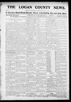 Primary view of object titled 'The Logan County News. (Crescent, Okla.), Vol. 11, No. 9, Ed. 1 Friday, January 16, 1914'.