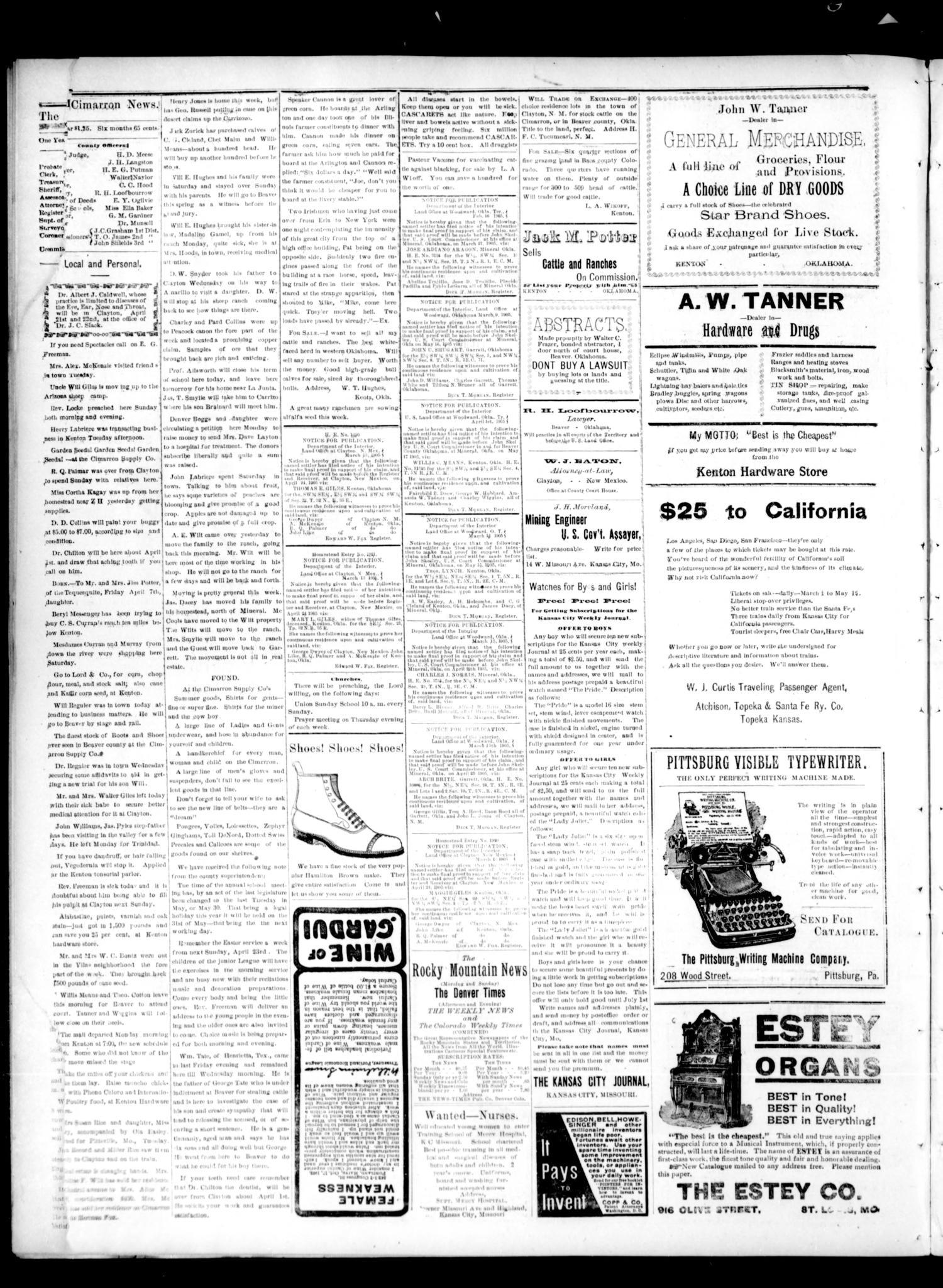 The Gateway to Oklahoma History