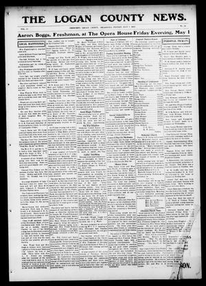 Primary view of object titled 'The Logan County News. (Crescent, Okla.), Vol. 11, No. 25, Ed. 1 Friday, May 1, 1914'.