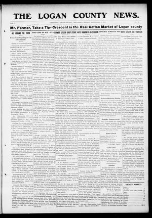 Primary view of object titled 'The Logan County News. (Crescent, Okla.), Vol. 8, No. 43, Ed. 1 Friday, September 8, 1911'.