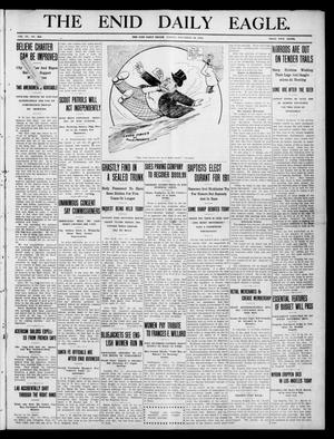 Primary view of object titled 'The Enid Daily Eagle. (Enid, Okla.), Vol. 9, No. 262, Ed. 1 Friday, November 18, 1910'.