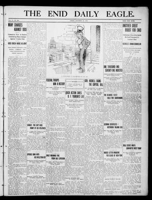 Primary view of object titled 'The Enid Daily Eagle. (Enid, Okla.), Vol. 9, No. 284, Ed. 1 Friday, December 30, 1910'.
