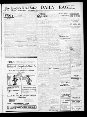 Primary view of object titled 'The Enid Daily Eagle. (Enid, Okla.), Vol. 9, No. 292, Ed. 1 Wednesday, January 11, 1911'.