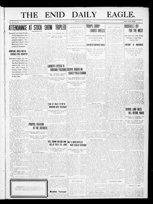 Primary view of object titled 'The Enid Daily Eagle. (Enid, Okla.), Vol. 9, No. 342, Ed. 1 Wednesday, March 8, 1911'.
