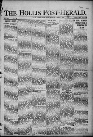 Primary view of The Hollis Post-Herald. (Hollis, Okla.), Vol. 16, No. 18, Ed. 1 Thursday, January 9, 1919