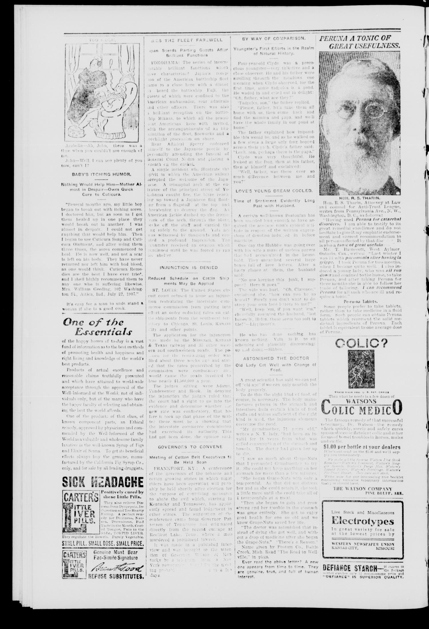 The New State. (Haileyville, Okla.), Vol. 4, No. 35, Ed. 1 Friday, October 30, 1908                                                                                                      [Sequence #]: 4 of 8