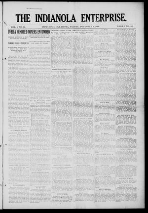 Primary view of object titled 'The Indianola Enterprise. (Indianola, Okla.), Vol. 5, No. 11, Ed. 1 Friday, December 4, 1908'.