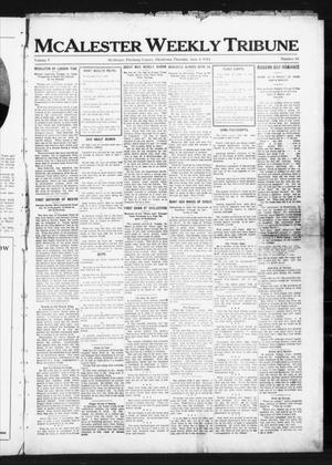 Primary view of object titled 'McAlester Weekly Tribune (McAlester, Okla.), Vol. 5, No. 10, Ed. 1 Thursday, June 4, 1914'.