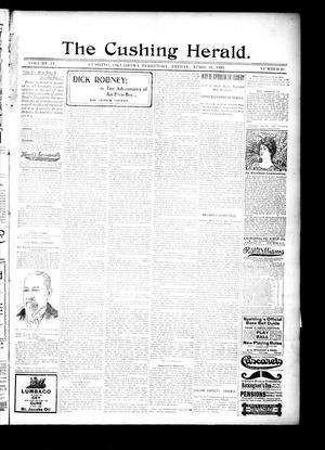 Primary view of The Cushing Herald. (Cushing, Okla. Terr.), Vol. 4, No. 40, Ed. 1 Friday, April 21, 1899