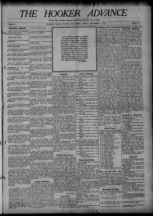 Primary view of The Hooker Advance (Hooker, Okla.), Vol. 8, No. 43, Ed. 1 Friday, December 1, 1911