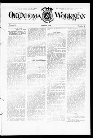 Primary view of object titled 'The Oklahoma Workman (Guthrie, Okla.), Vol. 13, No. 2, Ed. 1 Saturday, February 1, 1908'.