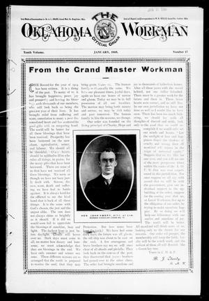 Primary view of object titled 'The Oklahoma Workman (Guthrie, Okla.), Vol. 10, No. 17, Ed. 1 Sunday, January 1, 1905'.