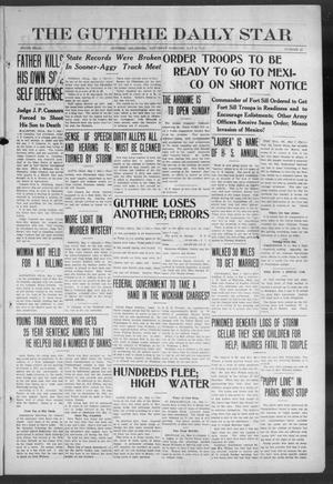 Primary view of object titled 'The Guthrie Daily Star (Guthrie, Okla.), Vol. 9, No. 47, Ed. 1 Saturday, May 4, 1912'.