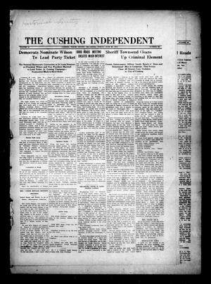 Primary view of object titled 'The Cushing Independent (Cushing, Okla.), Vol. 18, No. 22, Ed. 1 Friday, June 23, 1916'.