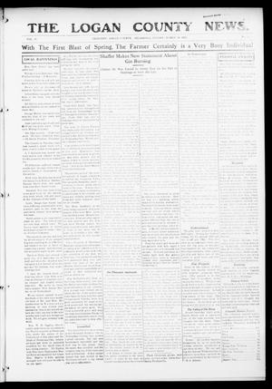 Primary view of object titled 'The Logan County News. (Crescent, Okla.), Vol. 12, No. 19, Ed. 1 Friday, March 19, 1915'.