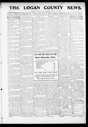 Primary view of object titled 'The Logan County News. (Crescent, Okla.), Vol. 13, No. 27, Ed. 1 Friday, May 12, 1916'.