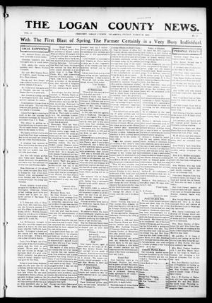 Primary view of object titled 'The Logan County News. (Crescent, Okla.), Vol. 12, No. 20, Ed. 1 Friday, March 26, 1915'.