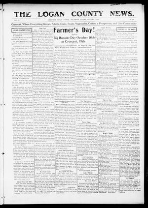 Primary view of object titled 'The Logan County News. (Crescent, Okla.), Vol. 12, No. 48, Ed. 1 Friday, October 8, 1915'.