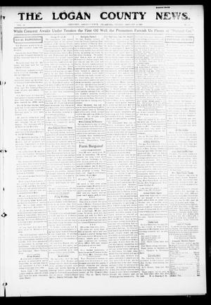 Primary view of object titled 'The Logan County News. (Crescent, Okla.), Vol. 13, No. 11, Ed. 1 Friday, January 21, 1916'.